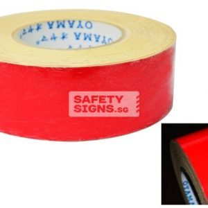 Reflective Tape Solid - Red