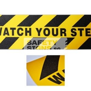 watch your step . anti slip sticker