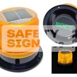 LEDs Solar Blinker Magnetic Base-Small (LEDsBMA_SMALL)