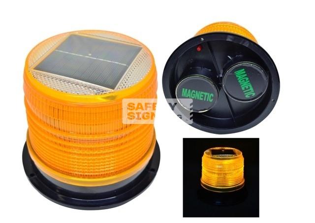 LEDs Solar Blinker Magnetic Base-Big (LEDsBMA_BIG)