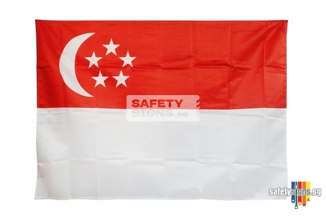 HDB Singapore State Flag
