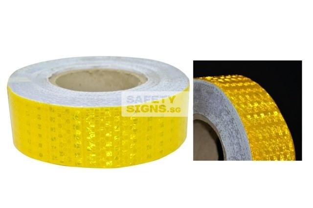 Diamond Tape Solid - Yellow