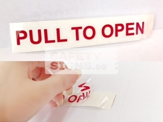 Pull To Open (LT055_PP)