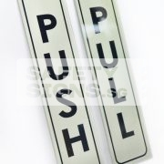 Push Pull Vertical silver black